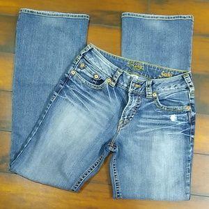 30 Silver Suki Jeans